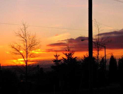 Sunset Jan 10