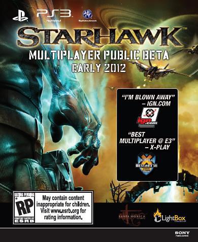 Starhawk UC3 Voucher