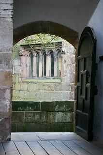 skipton castle 9 hall door