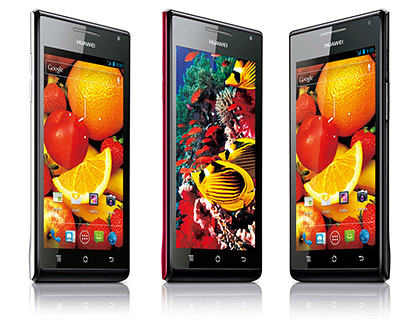 The Huawei Ascend P1 and Huawei Ascend P1 S was announced during CES 2012.