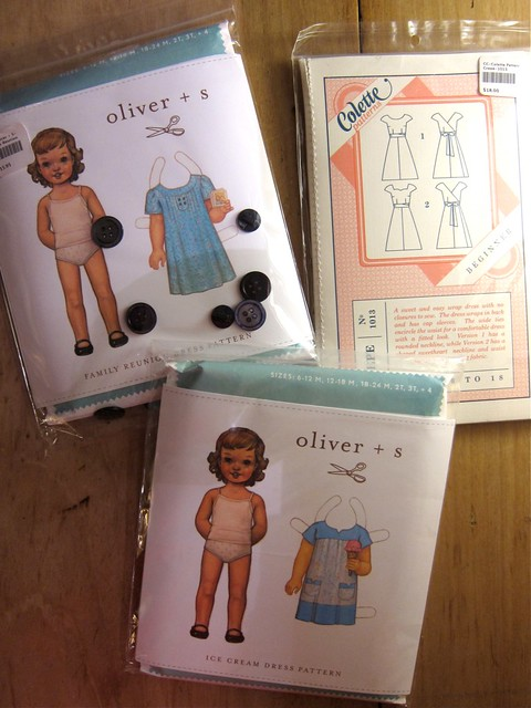 Oliver + S Ice Cream Dress and Family Reunion Dress