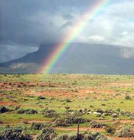I saw this rainbow in South Africa, some years ago. SA is a great country for rainbow fans! - by Simon Vierstra