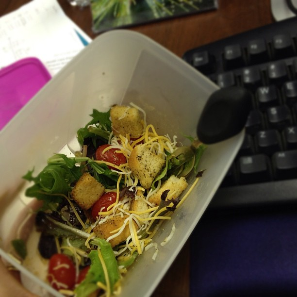 13/365+1 Lunch at My Desk #food #work