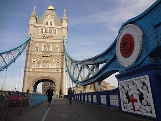 Ponte Tower Bridge em Londres