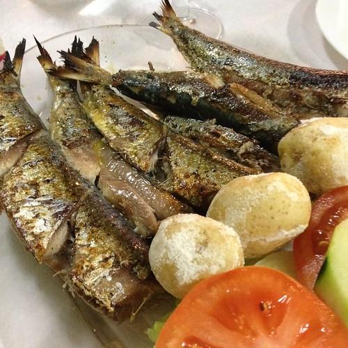 Cena en el restaurante Breñusca de San Sebastián de La Gomera
