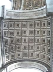 Arc de Triomphe underside