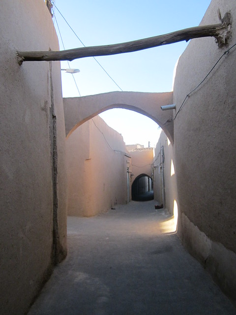 alleys in Yazd