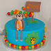 Monkey Birthday Cake