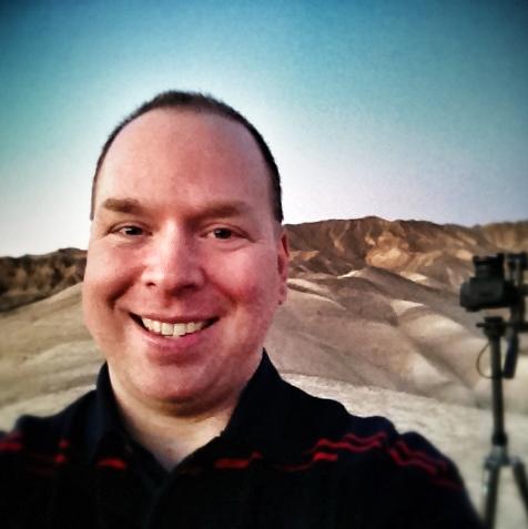 Jean-Pierre at Death Valley