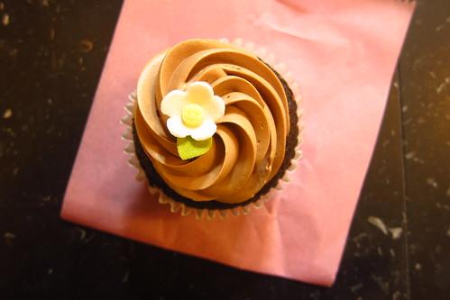 Miette's Chocolate Cupcake