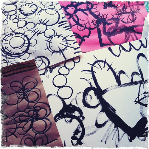 doodles unleashed collage papers