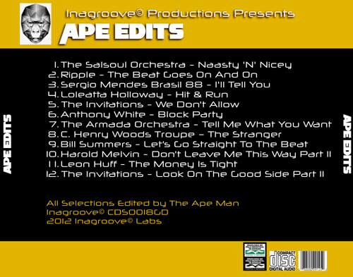 APE Edits CD BACK