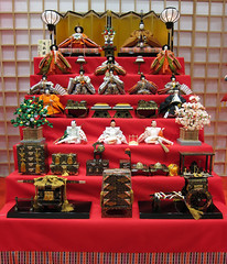 Japanese Doll Festival, Girls' Day: Hinamatsuri, Kyoto; ひな祭り、ひな人形、京都