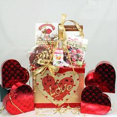Be my valentine Valentine's Day Gift Basket