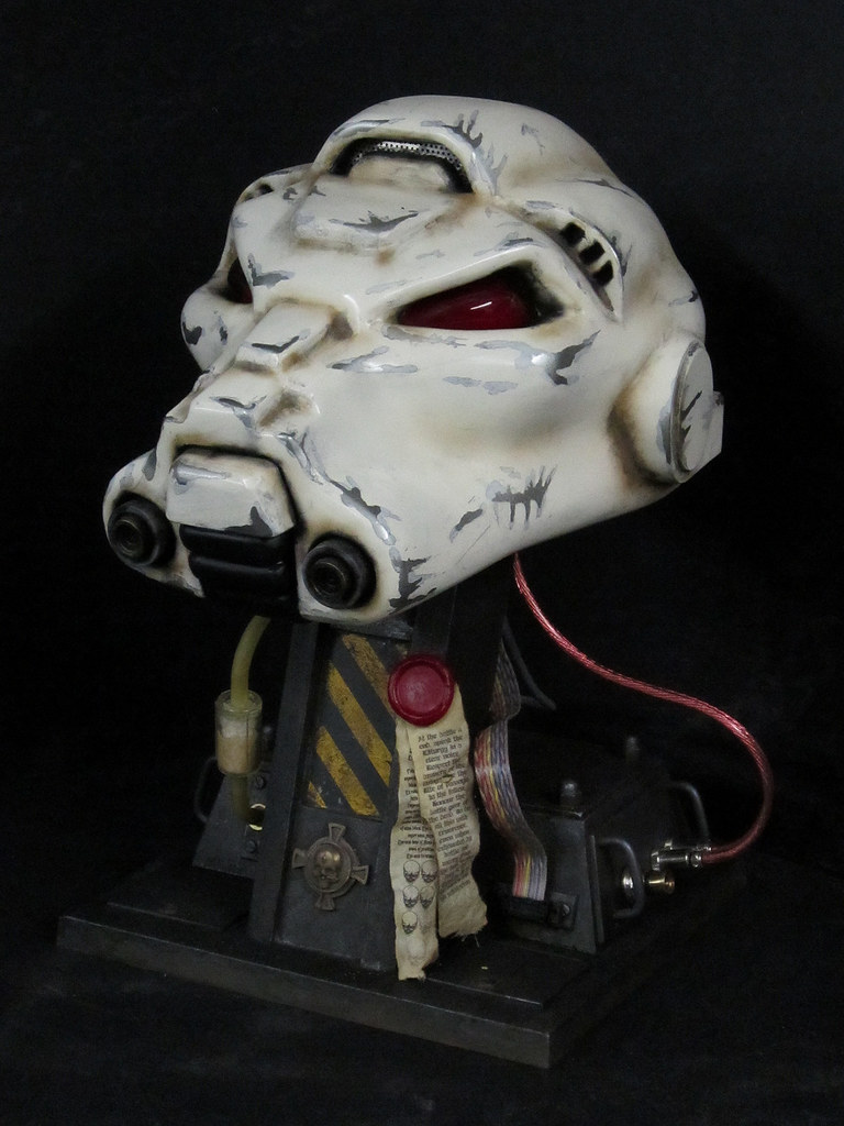 Terminator Helmet Finished unlit