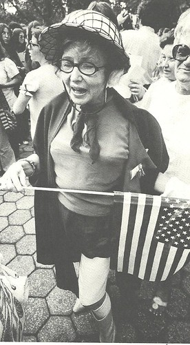Women's Rights Demonstrator, NYC, 1970