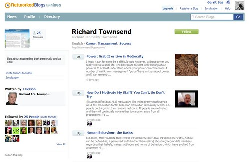 Richard Townsend's Blog by totemtoeren