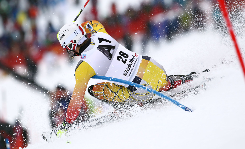 Brad Spence placed 14th in the Kitzbühel slalom.