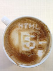 Today's latte, HTML5 again. It's too difficult.