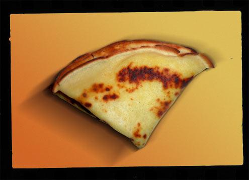 crêpe au fromage de chèvre