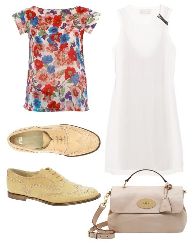 How to Wear Florals Outfit3