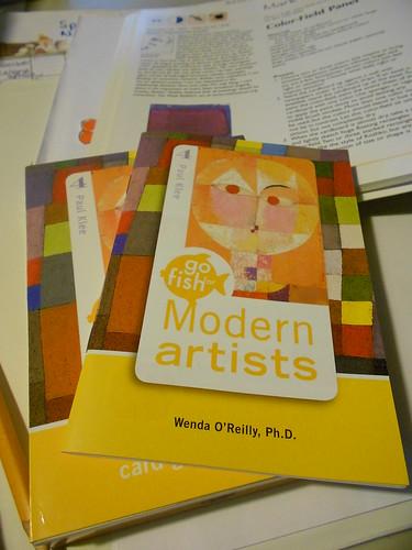Birdcage Press Modern Artists game