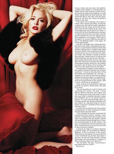 Playboy USA - January/February 2012 - Linsay Lohan