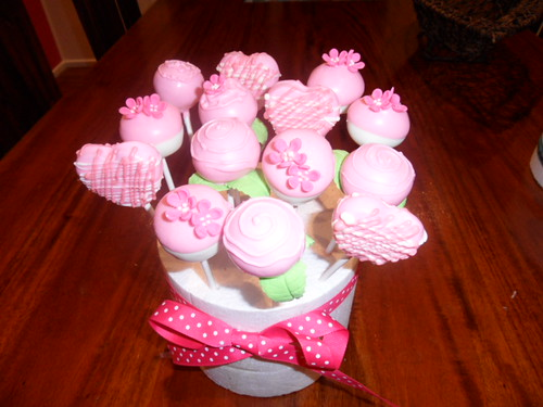 Cake Pop Bouquet by Sweet Eats by Karie-Anne