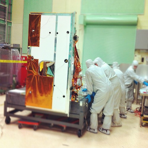 Inside the TIRS Cleanroom