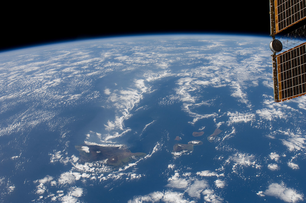 Hawaiian Island Chain (NASA, International Space Station ...