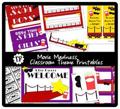 Movie Madness Classroom Theme