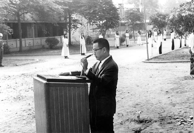 Lễ khánh thành Thư viện trường Quốc Gia Nghĩa Tử SG - 17/3/1971