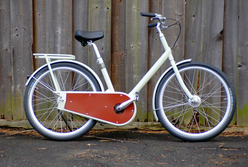 Paper Bicycle with Rack