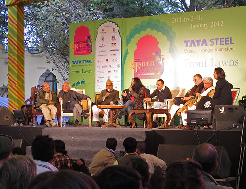 Panel at Jaipur Literature Festival on Salman Rushdie episode