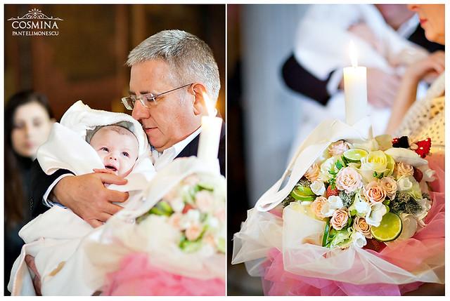 lumanare botez Carla Andreea