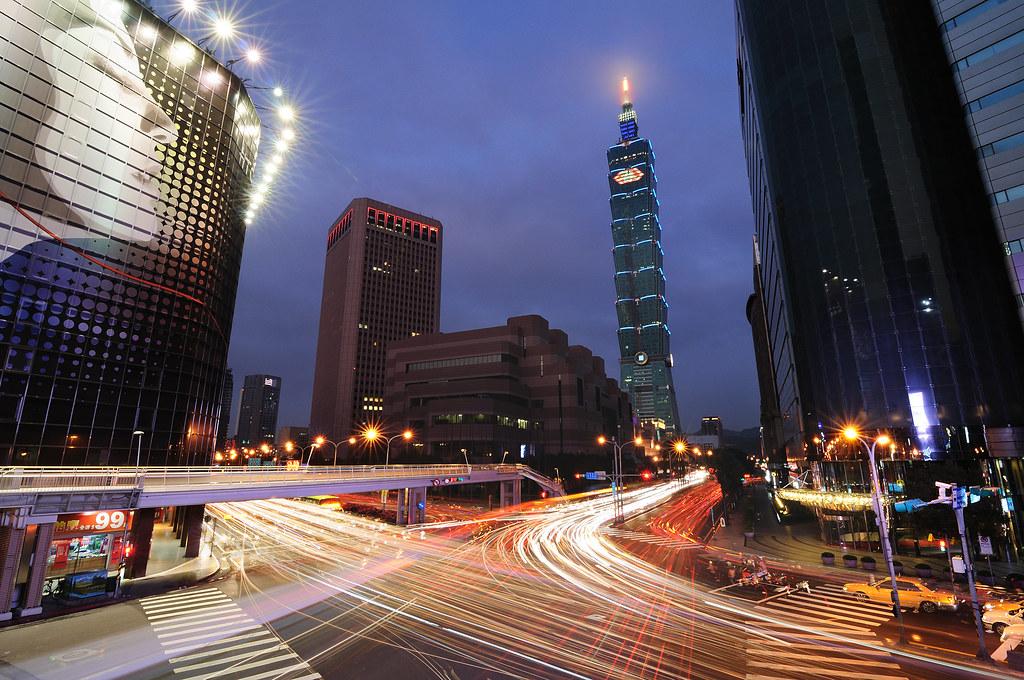 台北101 春來
