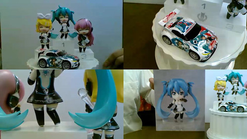 Nendoroid Petit Racing Vocaloid 2011 set