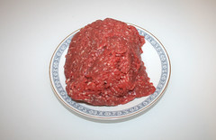 02 - Zutat Rinderhack / Ingredient beef ground meat