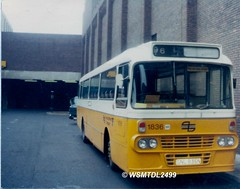 1836  GNL 836N  Leyland Leopard  Alexander AY. Eldon Square Bus Station NEWCASTLE UPON TYNE