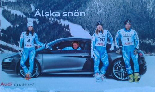 Kul dag i backen med Audi R8