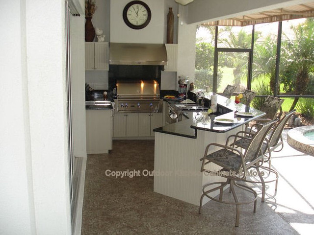 outdoor kitchens cabinets designs install sarasota
