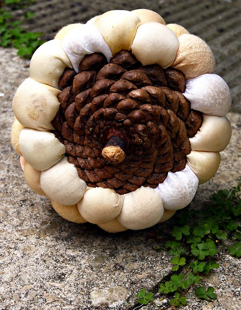 Pinecone pincushion