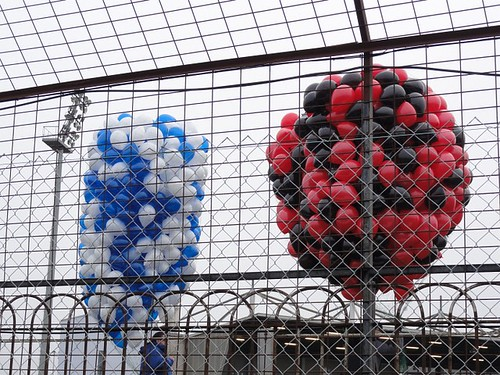 Coleraine and Crusaders Balloons
