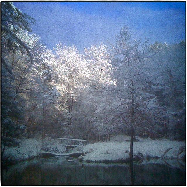 Sky Lake. December, 2009.