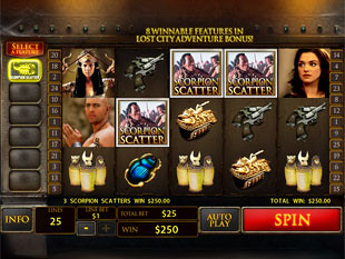 The Mummy slot game online review