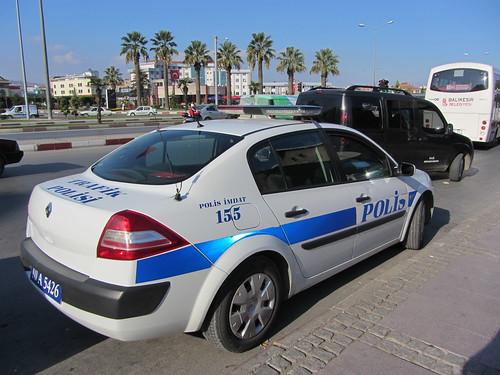 Balikesir: Police car