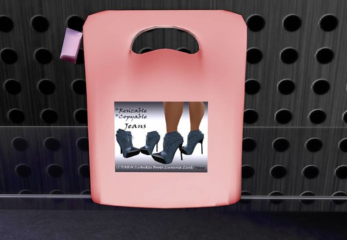 TARA - Ankle Boots Luxuria Lush Steep Jeans Sky, 1 linden (dollarbie) by Cherokeeh Asteria
