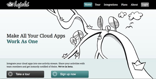 Hojoki - Make All Your Cloud Apps Work As One: Home