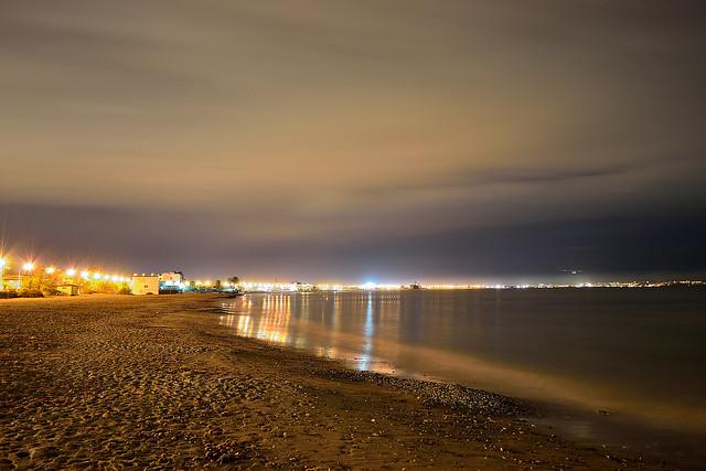 Spiaggia del poetto - Cagliari.
