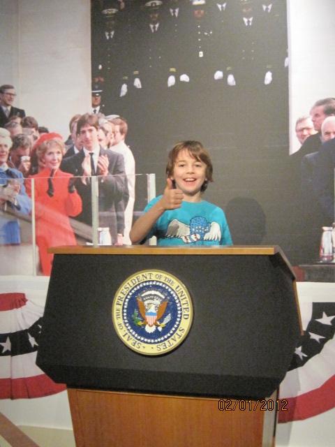 Future President Jackson Vest